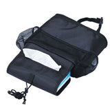 Car Seat Back Organizer Suspension Type Heat-protecting Storage Bag (tissue Box)
