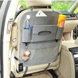 Auto Supplies Car Seat Back Organizer Multi-function Storage Bag,gray