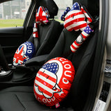 Cute Cartoon Cloud Series[the Union Jack]car Headrest-car Neck Pillow