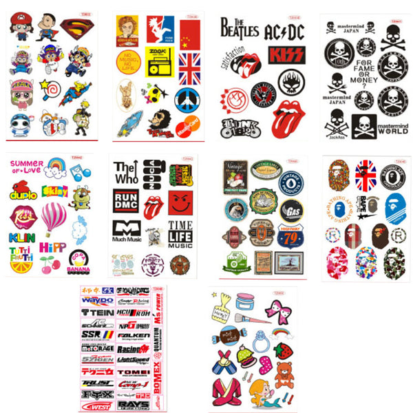 Waterproof Bicycle- Luggage- Motocycle- Car- Laptop Stickers (no.2)