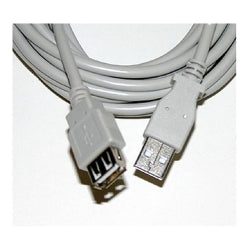 Usb 2.0 Cable-a Male To A Male-10 Ft-beige