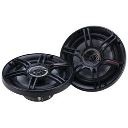 "Crunch Cs Series Speakers (6.5"", 3 Way, 300 Watts)"