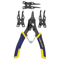 Vise-grip 6-1-2 In. Convertible Snap Ring Pliers, Internal And External