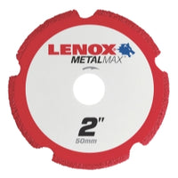 Lenox Metal Max Die Grinder Diamond Cutoff Wheel 2 In. X 3-8 In.