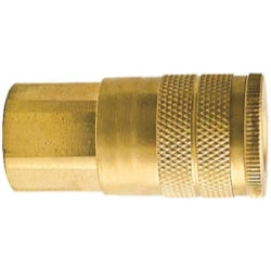 "Industrial Typ- D Female Coupler 1-4"" Body 1-4"" Npt"