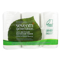 Seventh Generation Bathroom Tissue - Case Of 4 - 300 Count
