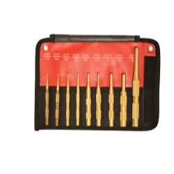 Mayhew 9-piece Brass Pilot Punch