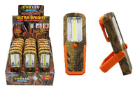 Camo - Cob Led Swivel Work Light With Clip Case Pack 18