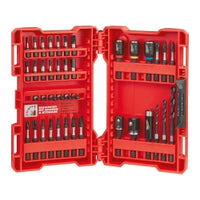 Milwaukee 40-piece Shockwave Impact Duty Driver Bit Set W- Wear Guard Tip