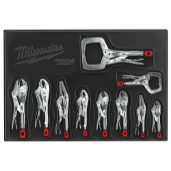 10-piece Torque Lock Curved Jaw Pliers Kit