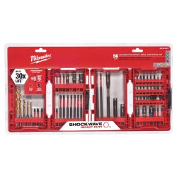 Shockwave 56-piece Impact Duty Drill And Drive Bit Set