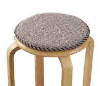 [k] Soft Round Stool Cover Bar Stool Seat Pad