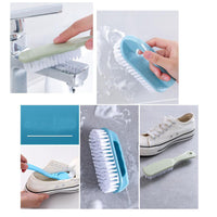 3 Packs Multifunctional Shoes Brushes Household Cleaning Brushes Laundry Brushes(color Random#01)