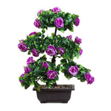 Artificial Flower Potted Living Room Ornament