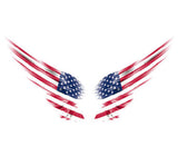 Special Car Decal-sticker For  Window Wall Car Truck Motorcycle - Us Flag