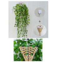 Artificial Plant Vine Creative Home Garden Wall Decoration Wall Hanging [d]