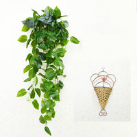 Artificial Plant Vine Creative Home Garden Wall Decoration Wall Hanging [e]