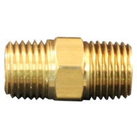 "M. Hex Nipple, 1-4"" Npt, 2-cd"