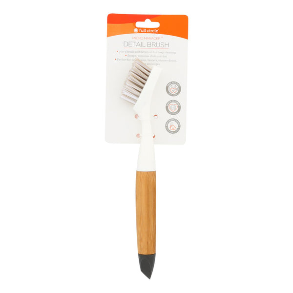 Full Circle Home - Micro Manager Detail Brush - Case Of 6 - 1 Count