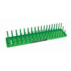 "1-2"" Metric 3-row Socket Tray, Green"