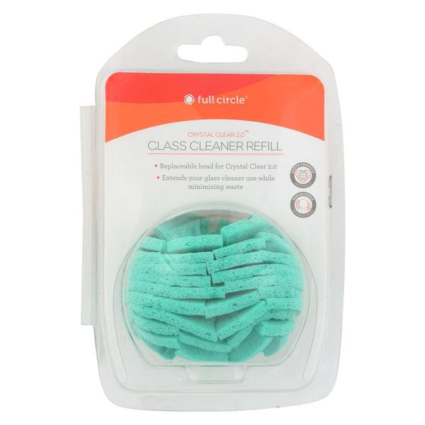 Full Circle Home - Crystal Clear Glass Cleaner - Refill - Case Of 6 - 1 Count