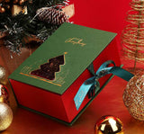 Gift Boxes For Christmas Excellent Decorative Gift Box Christmas Present[green]