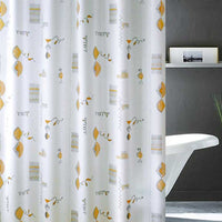 Peva Bathroom Waterproof Shower Curtain Bathroom Hanging Curtain Toilet Door Curtain Partition Curtain, 71x71inch