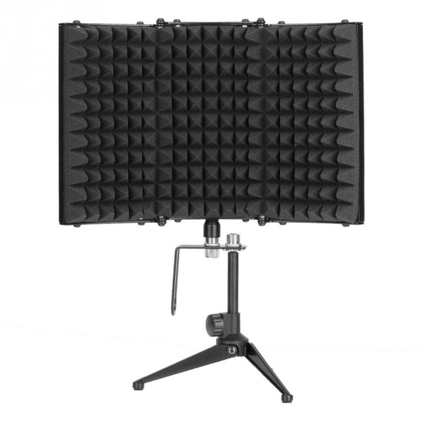 Foldable Microphone Isolation Shield