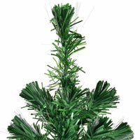 6Ft Pre Lit Fiber Optic Artificial PVC Christmas Tree