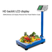 Electronic Postal Scale LCD Display