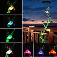 Colorful Spiral  Bird - Wind Chime