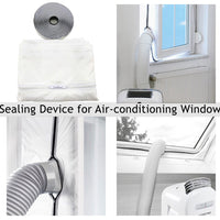 Air Lock Seal For Mobile Air Conditioner