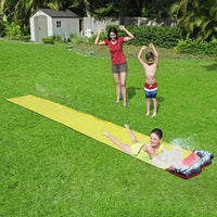 Giant Backyard Water-Slide