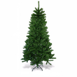 6Ft Artificial Christmas Tree  w/ Metal Stand