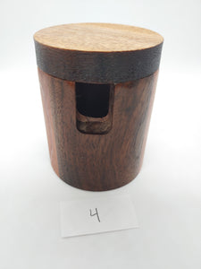510MOD Large Wooden Sleeve/Cap for 30mmOD Bottomless Banger