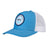 Columbia Blue/White With OFC Logo Patch Trucker Snapback Hat