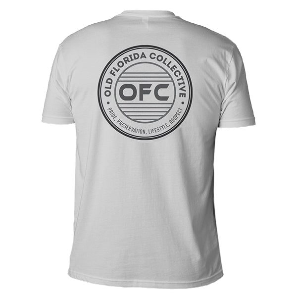Men's Gray Short Sleeve With OFC Logo