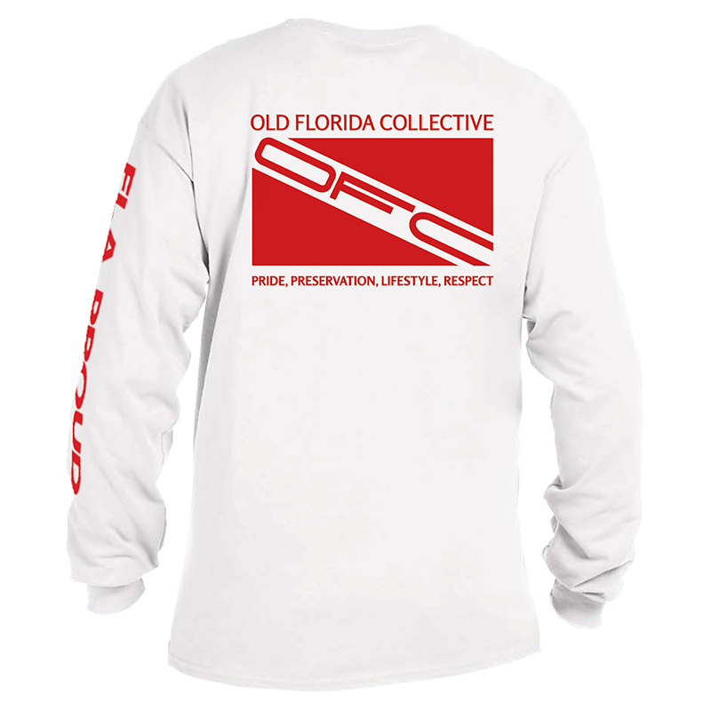 Men's (Old School) Long Sleeve With Dive Flag Logo