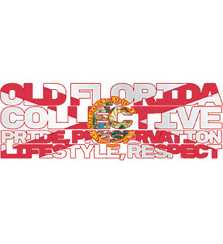 "10"" x 4.5"" Old Florida Collective Tribute Overlay"