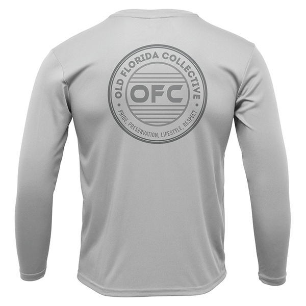 Men's Performance Silver Long Sleeve With OFC Logo