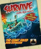 Survive: Escape from Atlantis - The Giant Squid Expansion Revised Edition