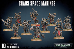 Warhammer 40K: Chaos Space Marine Squad