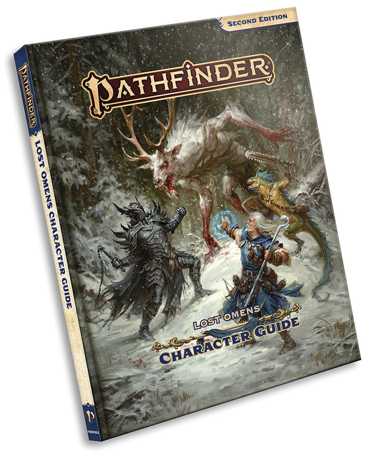 Pathfinder RPG: Lost Omens - Character Guide Hardcover (P2)