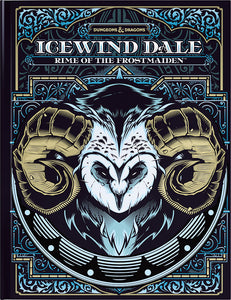 Dungeons and Dragons RPG: Icewind Dale - Rime of the Frostmaiden Hard Cover - Alternate Cover
