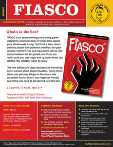 Fiasco RPG: Boxed Set (Revised)