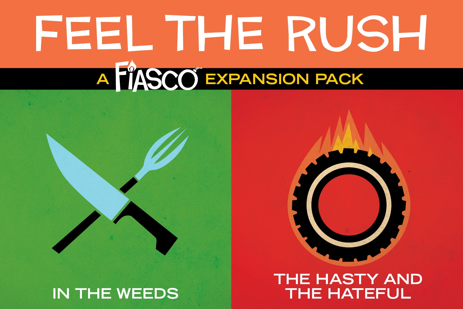 Fiasco RPG: Feel the Rush Expansion Pack