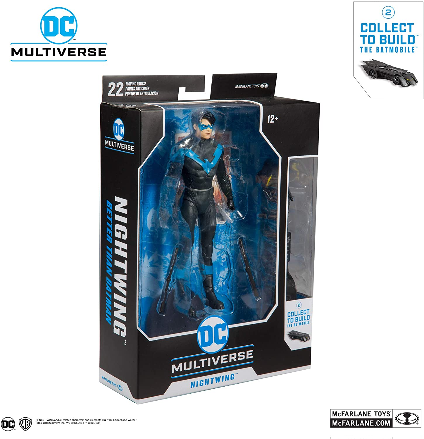 Nightwing: DC Multiverse McFarlane Toys Action Figure
