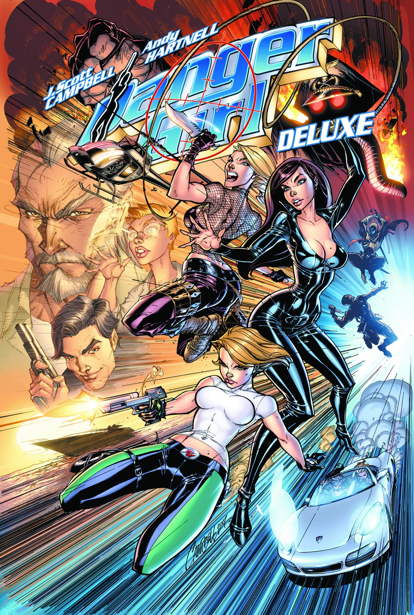 DANGER GIRL DLX ED TP