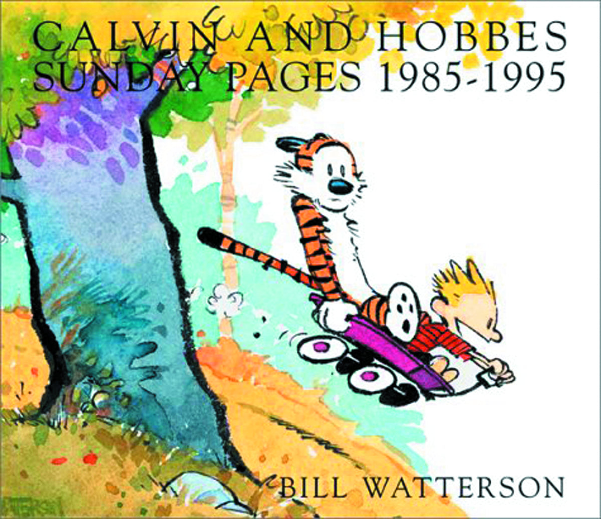 CALVIN & HOBBES SUNDAY PAGES SC 1985-1995 (C: 4)