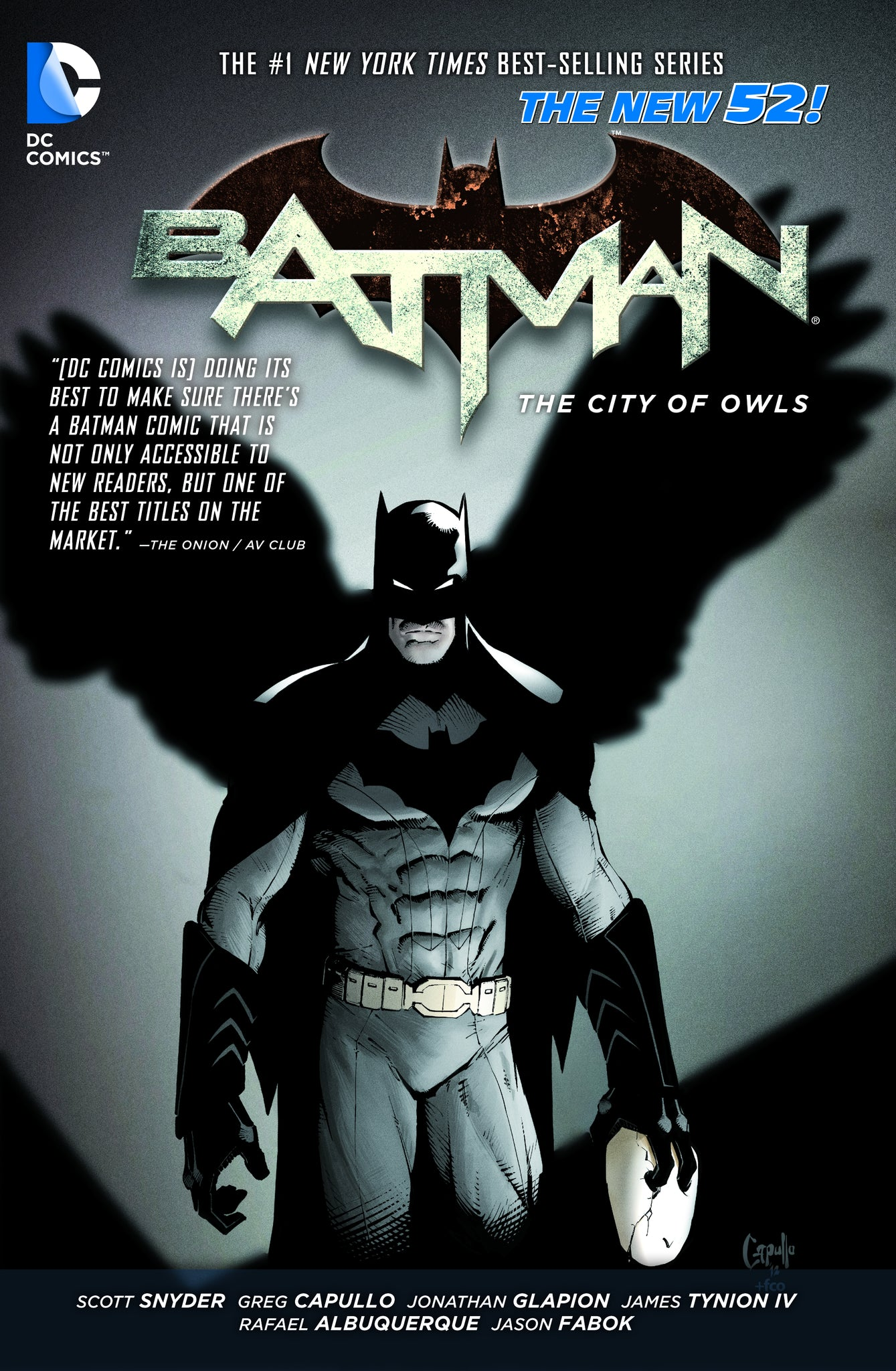 BATMAN HC VOL 02 THE CITY OF OWLS (N52)